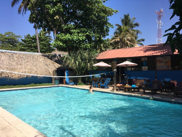Pool at hotel delfin