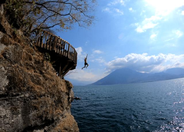 jumping off platform in san marcos