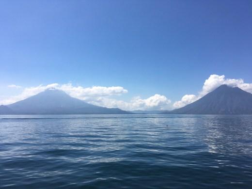 mountains lake atitlan