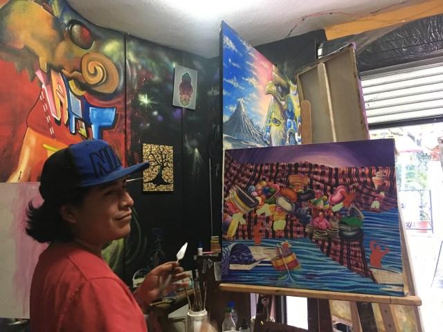 art gallery san pedro