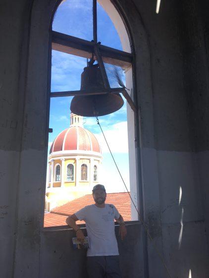 bell in granada church