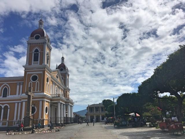 church granada nicaragua