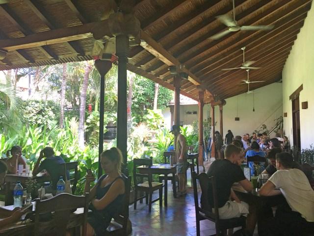 garden cafe nicaragua