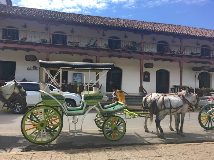 granada horse and carriage