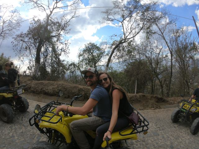 riding fourwheelers in antigua