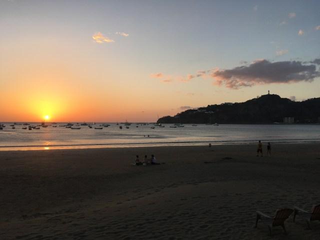 san juan del sur nica sunset