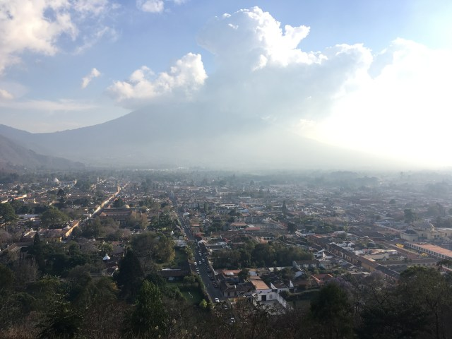 view from cerro de la cruz antigua