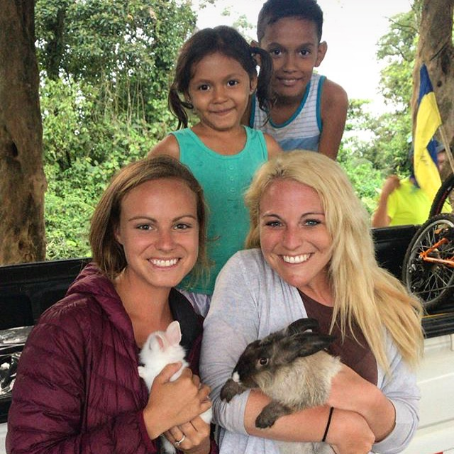 bunnies and costa rica locals