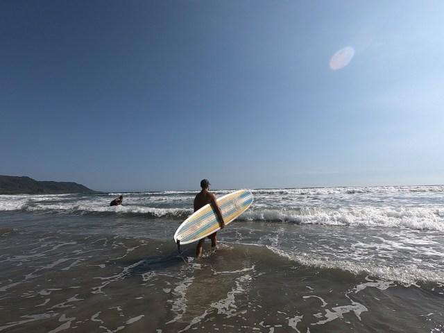 santa teresa surfing