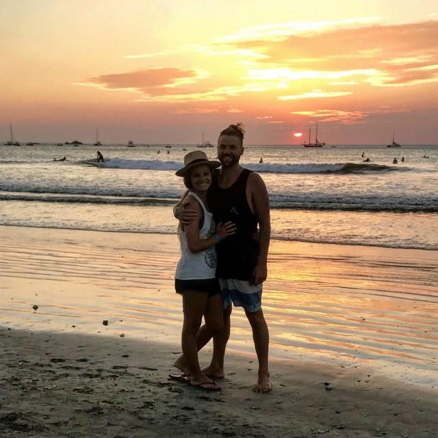 tamarindo costa rica sunset