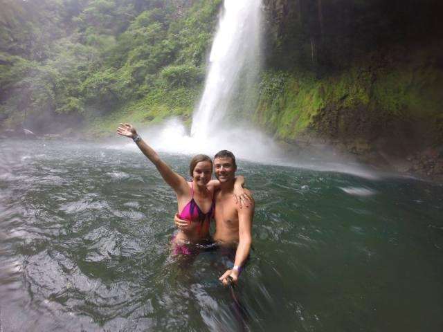 waterfall tabacon