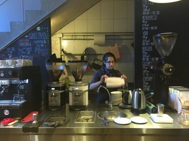 lab coffee barista