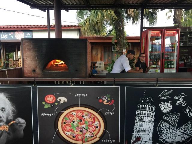 pizza costa rica