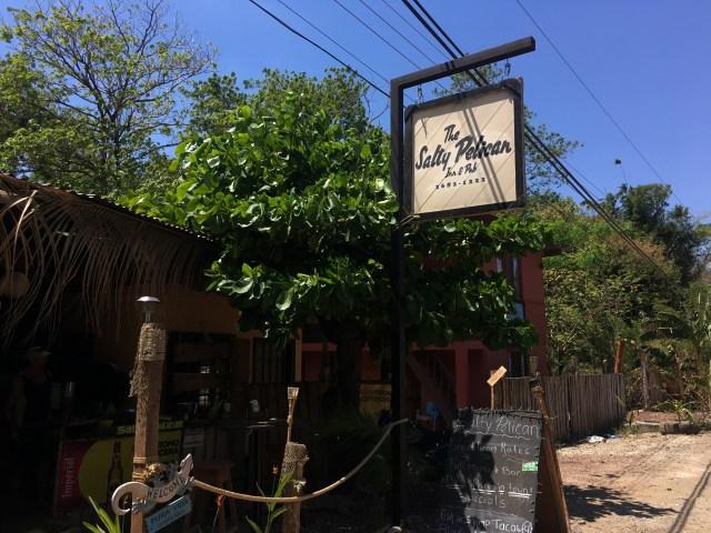 salty pelican pub costa rica