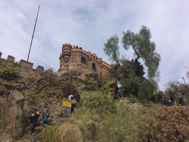 castle santiago chile