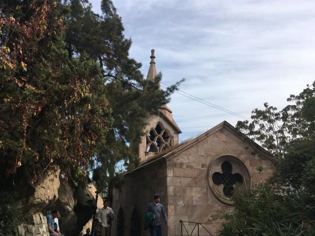 church santa lucia hill