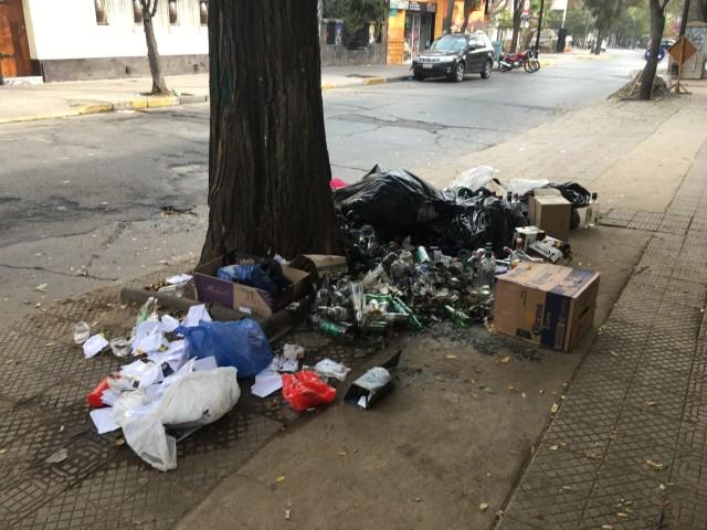 santiago trash