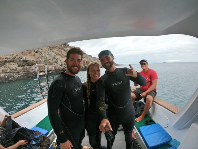 Scuba trip on a Galapagos Land-Based Itinerary