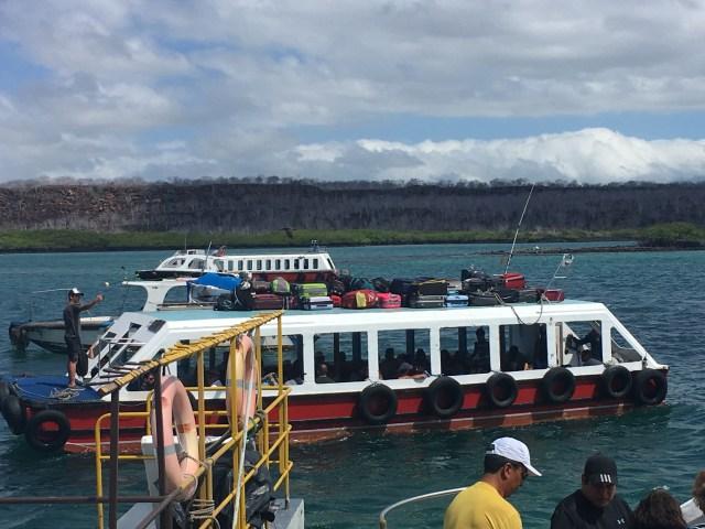 galapagos ferry