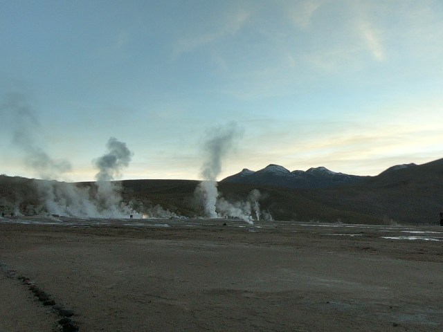 geysers chile