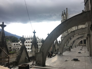 rooftop church quito