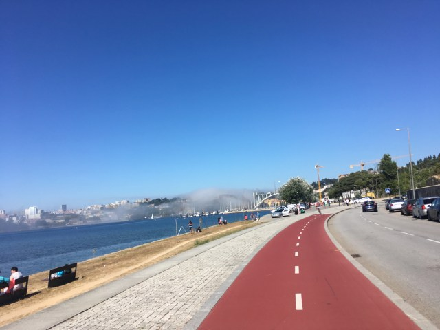 bike trail porto