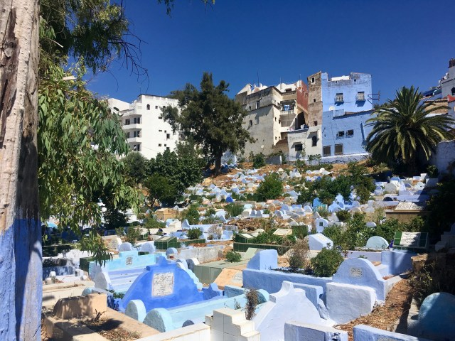 chefchaouen cemetary