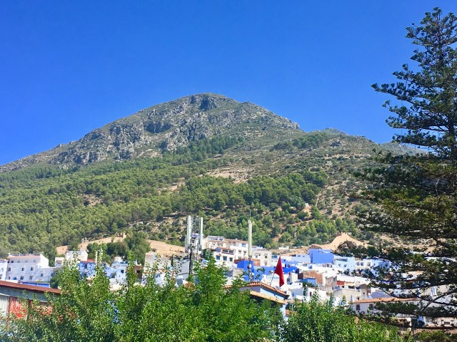 chefchaouen mountain