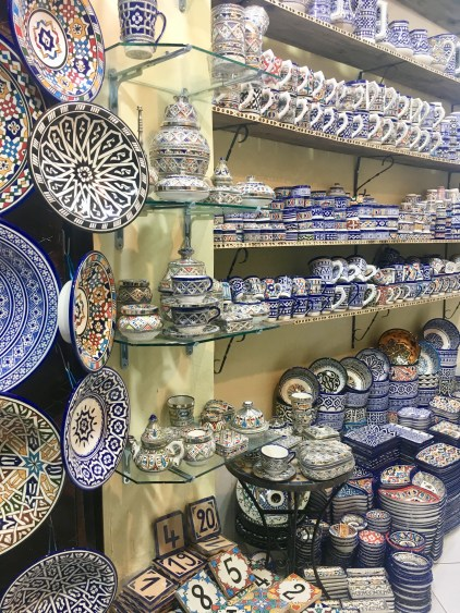 dishes in fes