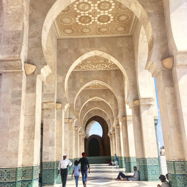 morocco casablanca mosque