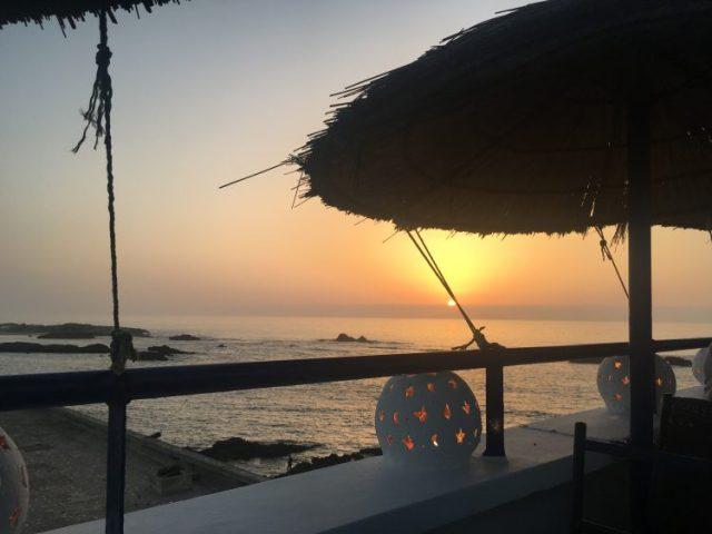 sunset essaouira