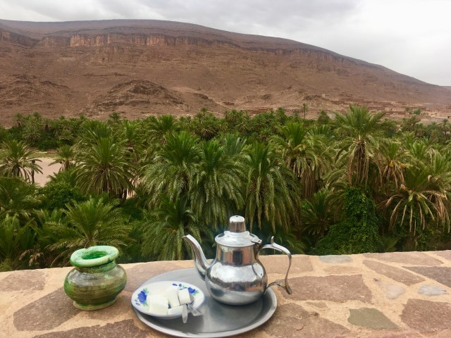 mint tea in morocco