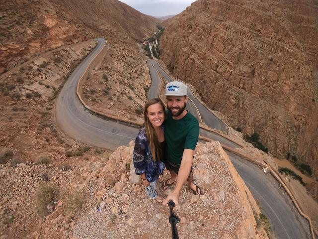 morocco crazy road