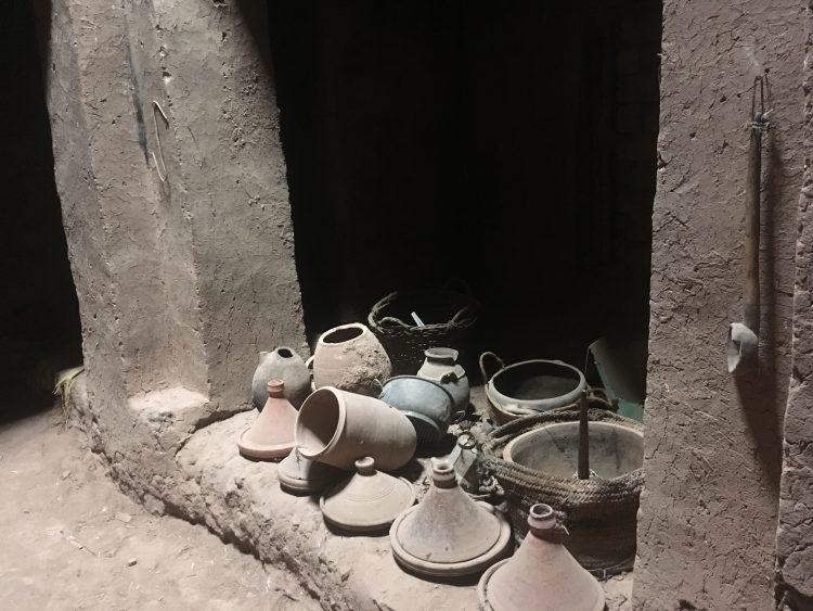 pottery ait benhaddou