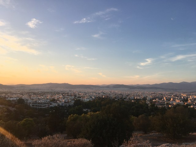 hill of mars athens