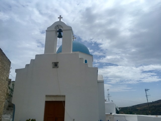 Lefkes paros greek church