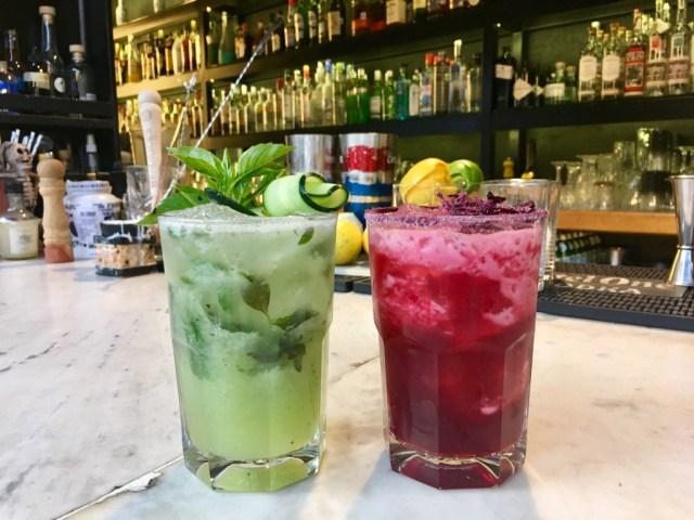 mezcal cocktails mexico city