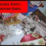 Thrifty Thursday – Thrifty Homemade Christmas Cards