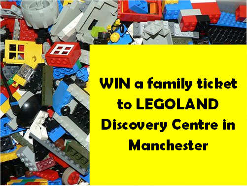 Win a family ticket to legoland discovery centre