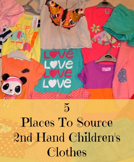 5 Places To Source 2nd Hand Children's Clothes
