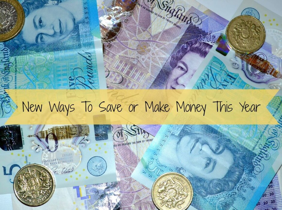 New Ways To Save or Make Money This Year