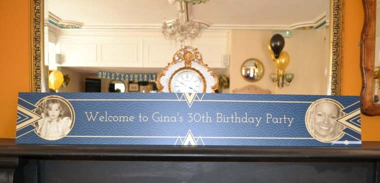 personalise your party