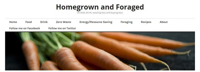Homegrown and Foraged blog by Vicky