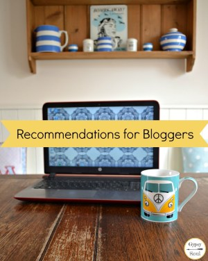 A list of recommendations for bloggers