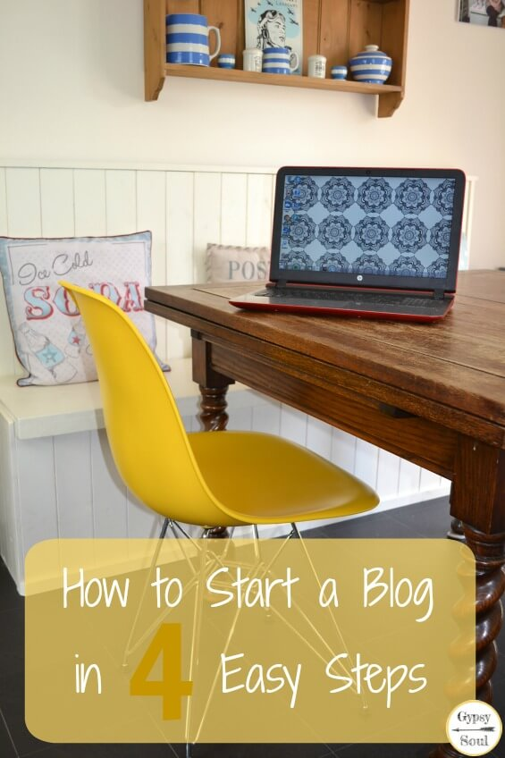 how to start writing a blog uk