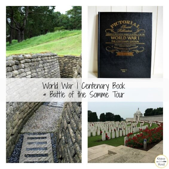 World War I Centenary Book & Battle of the Somme Tour