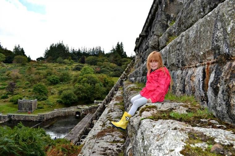 Fernworthy Reservoir Dam Dartmoor