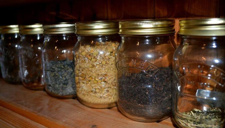 jars of tea