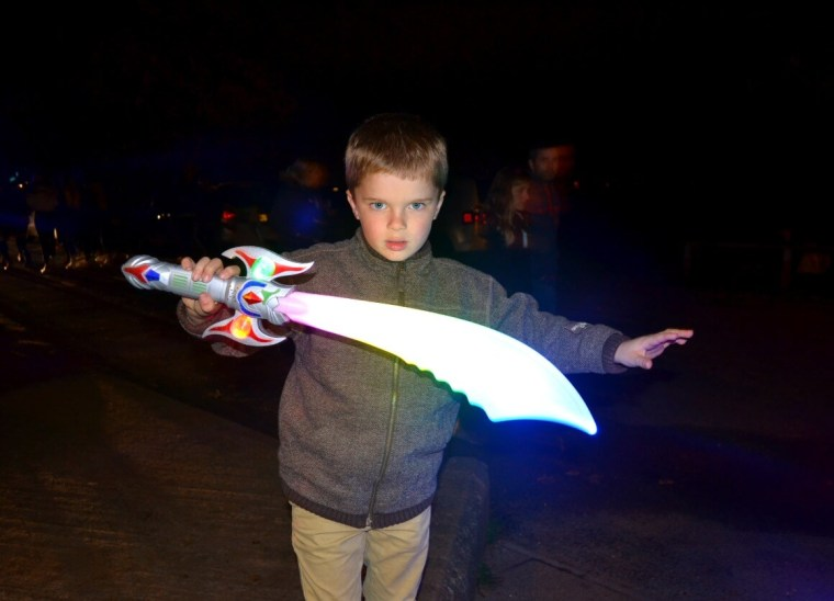 Light up toys exmouth carnival