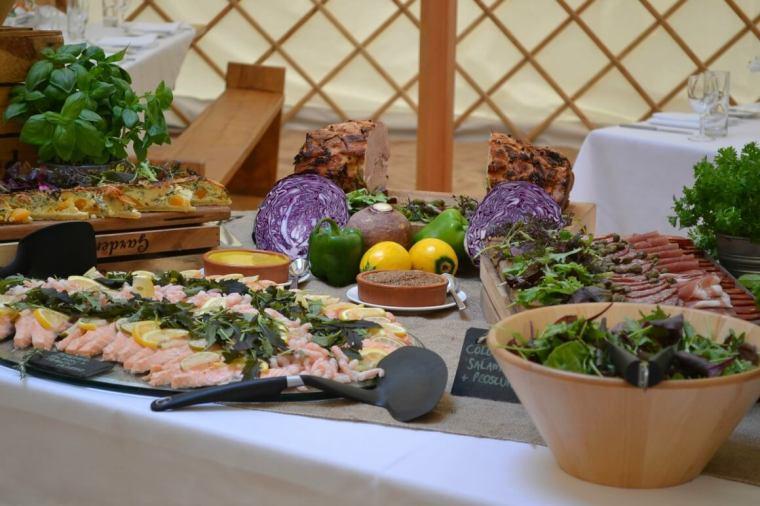 Posh Nosh caterers in Devon